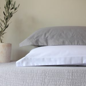 Pillow Cases With Oxford Flap