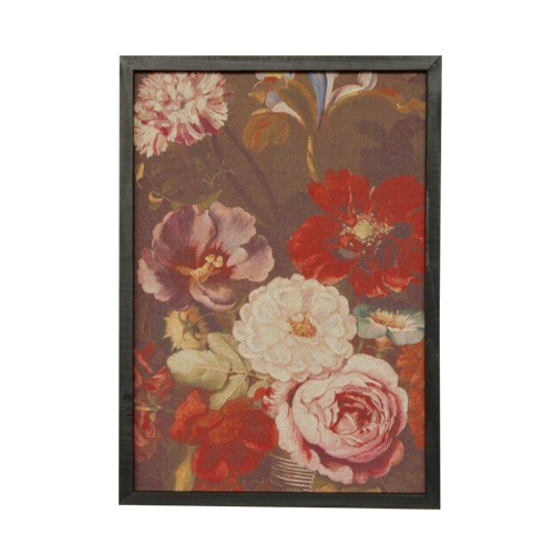 Rose floral printed picture