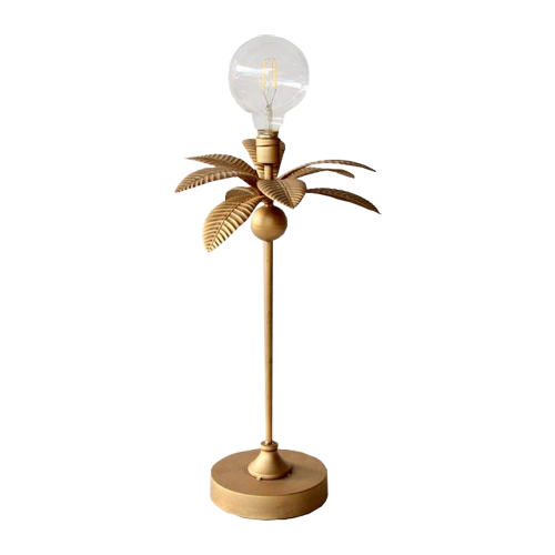 BATTERY OPERATED PALM LEAF LIGHT